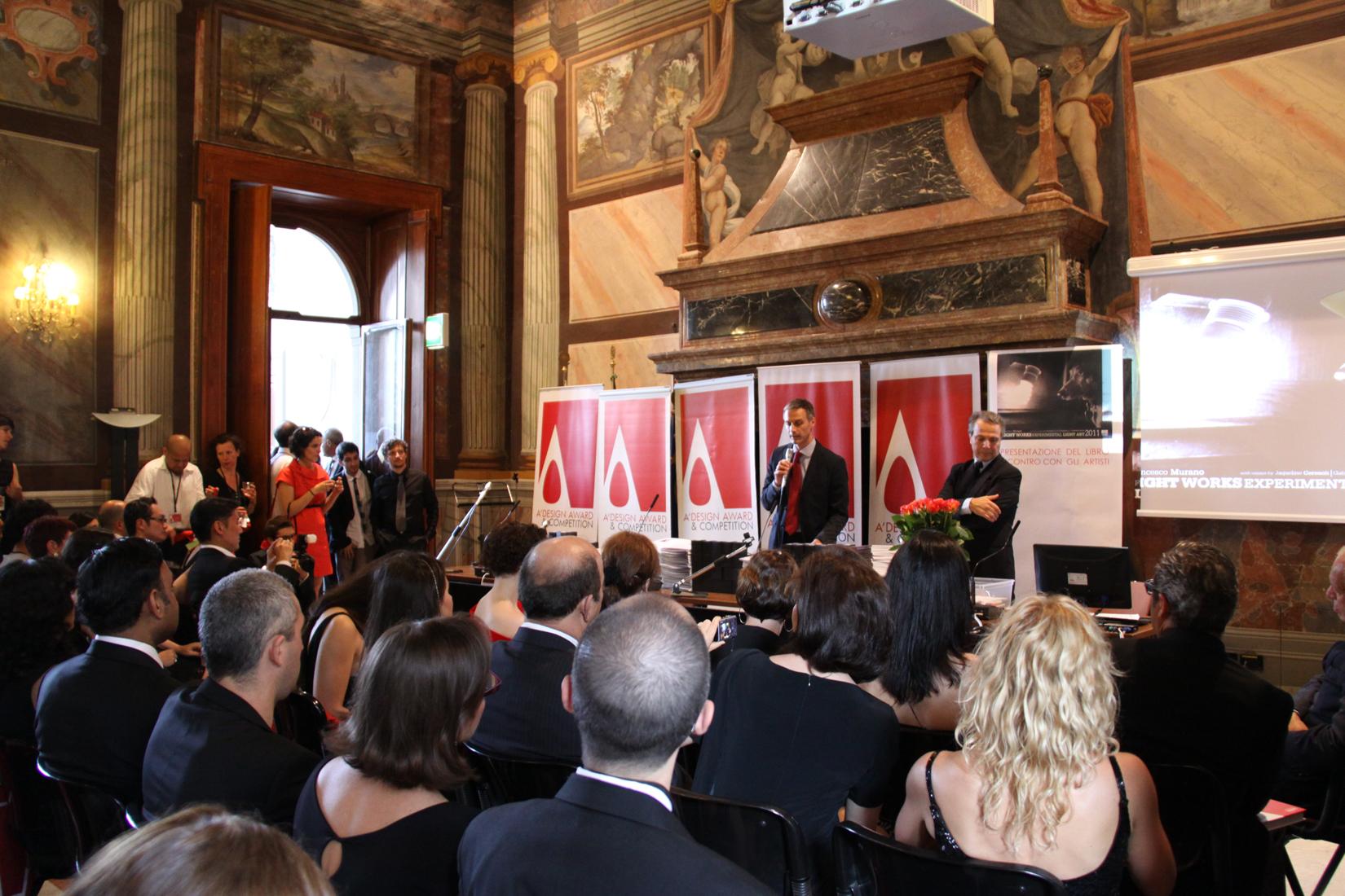授賞式2012